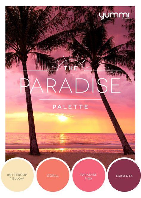 10% OFF The Paradise Palette! Use Promo Code PAR10 At Checkout. Shop Now at www.YummiCandles.com