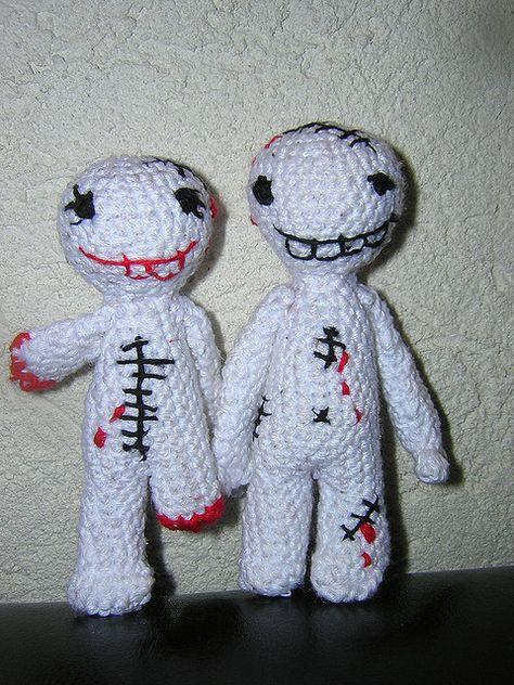 Big Zombie #amigurumi love by * Jenni *, via Flickr