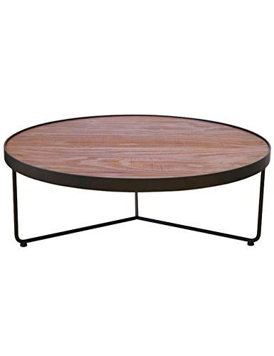 Wrought Iron Side Table Outdoor Terrace Casual Coffee Table