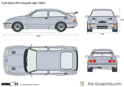 Ford Sierra Rs Cosworth Rally Ford Sierra Ford Automotive Artwork