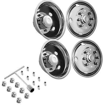 Advertisement Ebay For Ford F450 F550 19 5 99 02 8 Lug Stainless Dually Wheel Simulators Bolt On Stainless Steel Bolts Dually Wheels Dually Rims