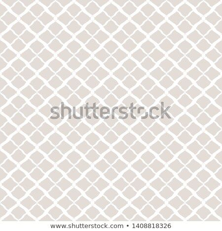 Subtle Vector Geometric Seamless Pattern Simple White And Light