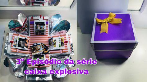 Ideia para o dia dos namorados [ #caixaexplosiva ]//josannaalves - YouTube