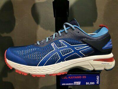 Ebay Sponsored Asics Gel Kayano 25 Blue Men D Width Running Shoes 1011a587 403 Mita Exclusive Blue Man Asics Mens Shoes Casual Sneakers