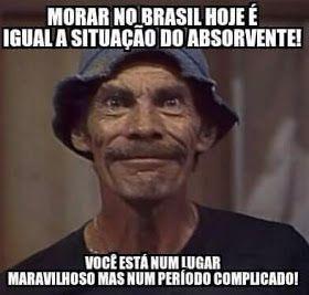 Morar no brasil hoje é igual a situação do…