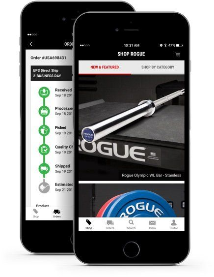 Rogue Fitness Strength Conditioning Equipment App Rogue Fitness Gift Card Template