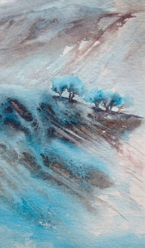 Ma Derniere Serie De Paysages A L Aquarelle Encre Aquavelles