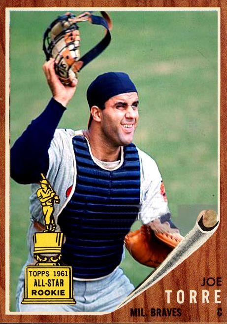 Alternate 1962 Joe Torre Milwaukee Braves Card Braves Alternate