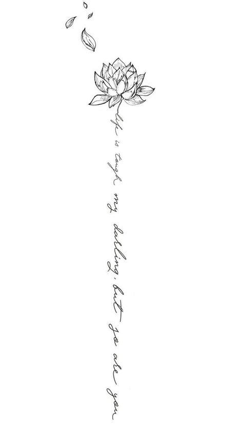 My spine tattoo design. -Michaela Paige.  Wedding Ideas