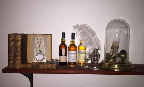 Whiskey and old books