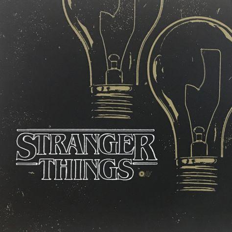 Stranger Things - 2016 Chris Garofalo poster AP GID print - Default Title