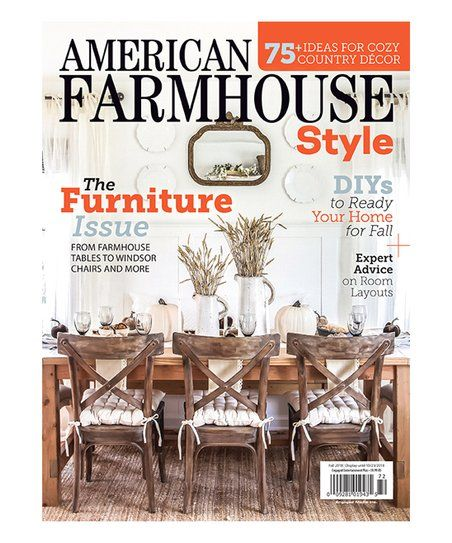 Mailbox Must Haves American Farmhouse Style Magazine Subscription Zulily American Farmhouse Farmhouse Style House And Home Magazine
