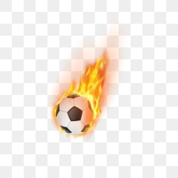 Soccer Ball Fire Flame Ball Sports Football Png And Vector With Transparent Background For Free Download In 2020 Soccer Ball Football Ball Football Silhouette