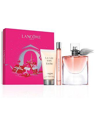Lancome 3 Pc La Vie Est Belle Passions Gift Set Reviews Beauty Gift Sets Beauty Macy S In 2020 La Vie Est Belle La Vie Est Belle Perfume Lancome