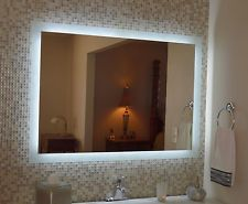 Lighted Vanity Mirror, Make Up, Wall Mounted LED, Bath Mirror