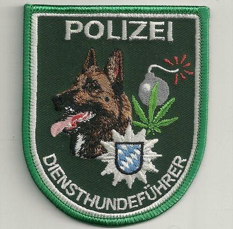 Aufnäher Bundeswehr Sprengstoffspürhundführer Malinois