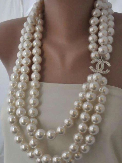 The Dish — Chanel Pearls