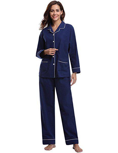 Hausanzug Lila Nachtwäsche Pyjama Schlafanzug Top Kniehose Chemise  S M L XL XXL
