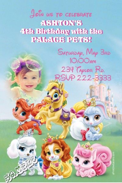 Best Girls Birthday Party Invitations Images On Pinterest - Birthday invitation software free download