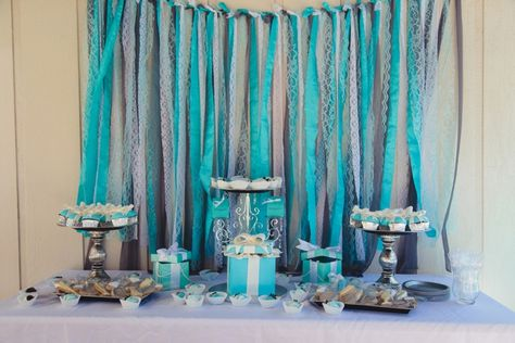 Tiffany & Co. themed bridal shower! Image: Jessica Swaner Photography