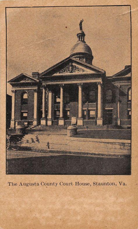 Woodrow Wilson Birthplace Postcard Staunton /& The Shenandoah Valley Virginia