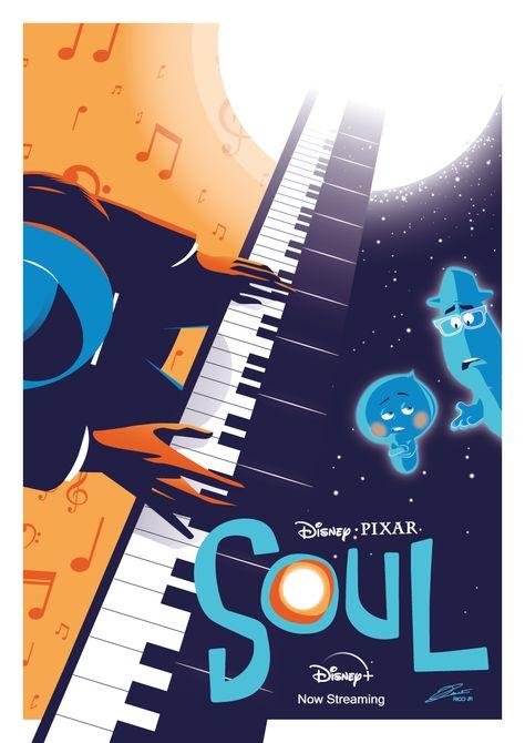 Pixar SOUL Poster Art - PosterSpy