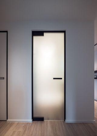Small Bathroom Modern Bathroom Door Designs
