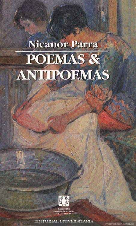 Nicanor Parra Poemas Antipoemas Nicanor Parra Parra Libros