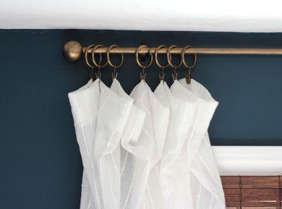 Diy Curtain Rods Shine Your Light Diycurtains Diy Curtain