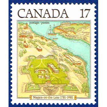 Canada 897 Stamp Niagara On The Lake Stamp Na C 897 1 Niagara On The Lake Lake Niagara