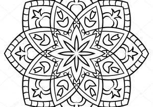 Coloriage A Imprimer Mandala