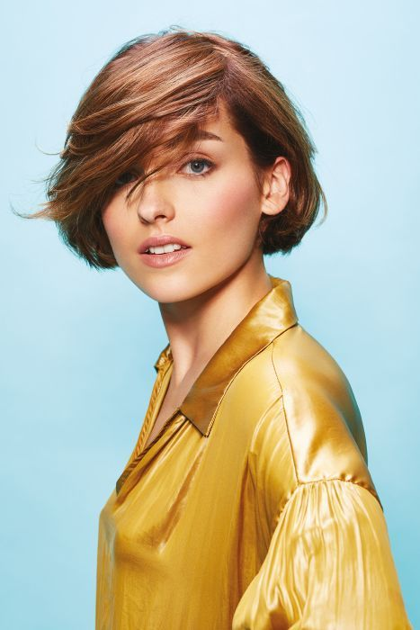 A Short Brown Hairstyle From The Tchip Coiffure Spring Summer 2019 Collection By Tchip Coiffure No 29510 Hair Styles Uk Hairstyles Short Hair Styles