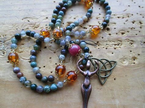 Goddess Prayer Beads
