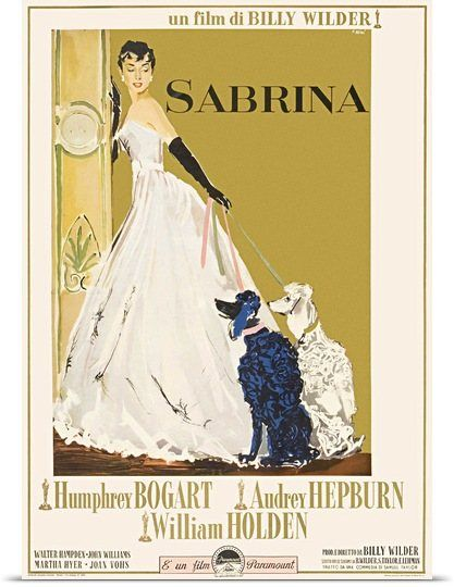 Sabrina (1954) Solid-Faced Canvas Print