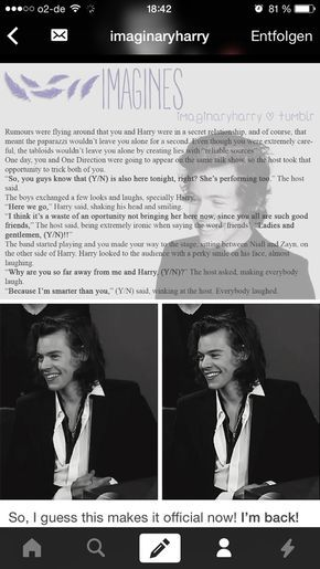 Interview | 1d imagines in 2019 | Harry imagines, Harry styles