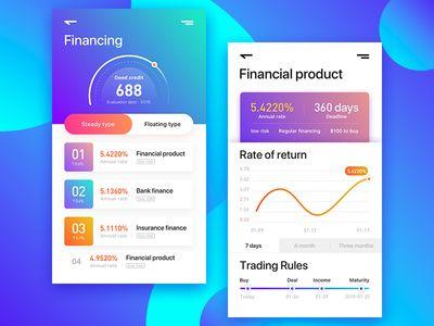 Financial App V1 0 With Images App Design Mobile App Design