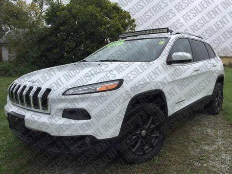 Jeep Cherokee Kl Curved Led Light Bar Brackets Mounts Trailhawk