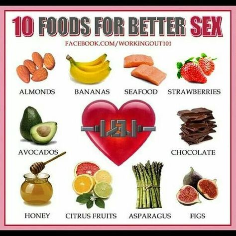 sex health foods