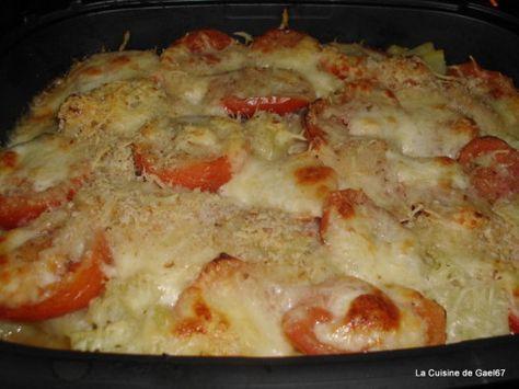 Gratin de courgettes, tomates, pomme de terre à l'ultra pro pour accompagner les grillades
