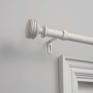 The Gray Barn Dreamweaver 1 Inch Curtain Rod And Finial Set 36