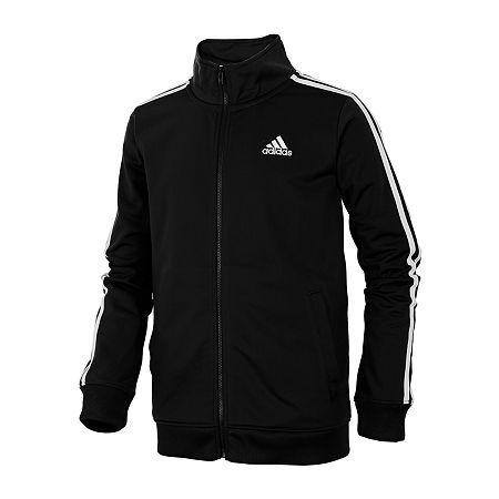 adidas Boys Track Jacket - Big Kid, X