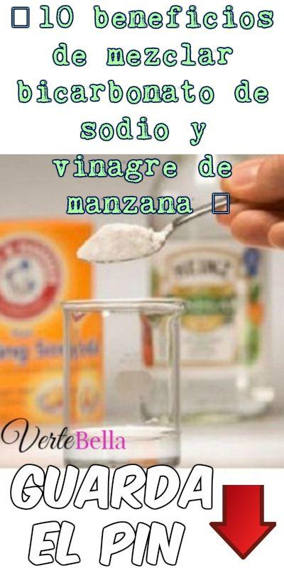 10 Beneficios De Mezclar Bicarbonato De Sodio Y Vinagre De