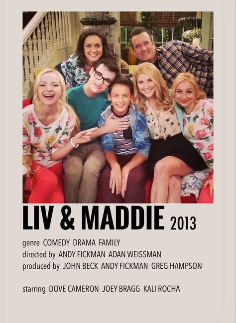 Liv and Maddie movie poster