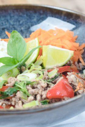 Thai Basil Beef   Thailändische küche, Rezepte und ...