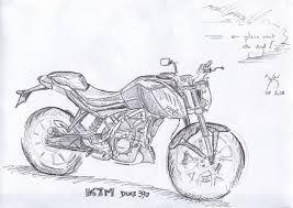 Image Result For Sketch Ktm Duke 200 Ktm Duke 200 Sketches Ktm