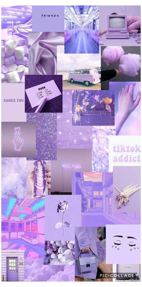 light purple aesthetic vintage wallpaper
