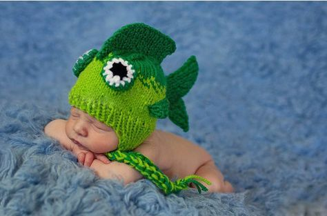 YouCustomizeIt Green /& Brown Toile /& Chevron Baby Hat Personalized Beanie