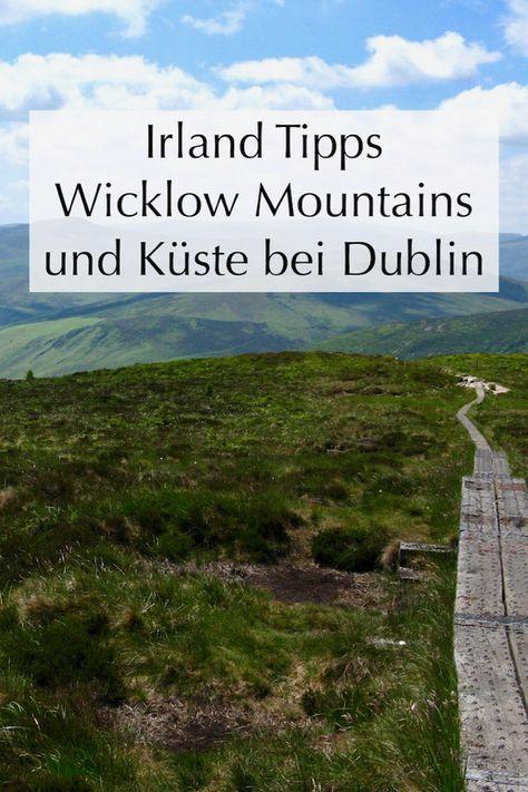 Dublin Wandern Wicklow Mountains Und Strande Irland Urlaub