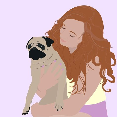 "Kruk 🐶 on Instagram: ""Me and one of my favorite persons @gabriellaboehmer 💗✨🐶 made by @plaatwerk_  • • • • #pugsarethebest #puglife #pug #pugoftheday…"""