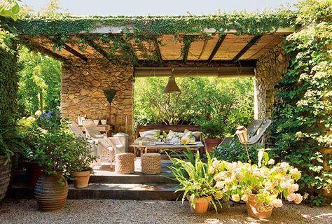 Pergola Mediterran mediterrán ház mallorcán mintha a szabadban élnél teraszok